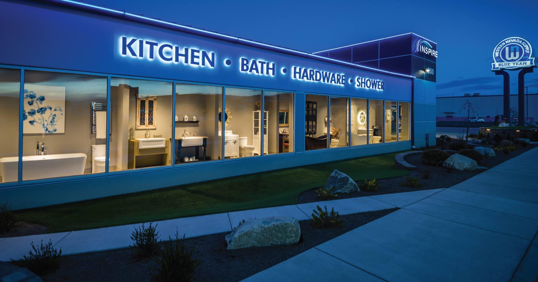 Inspire Showroom | Kitchen and Bath Showroom Reno